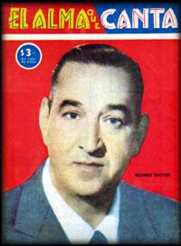 Tanturi en una tapa del año 1959