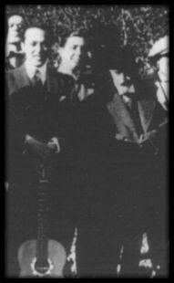 Gardel y Jacinto Benavente